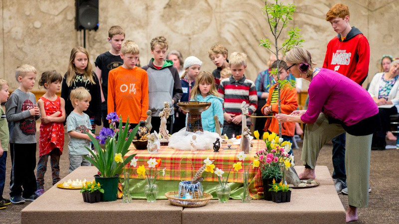 children flower service