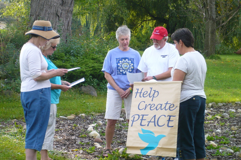 help create peace group